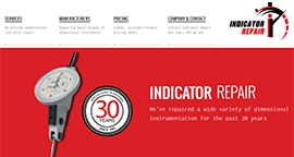 Indicator Repair Website Project
